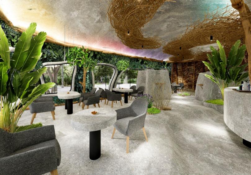 法式餐厅,生态餐厅
