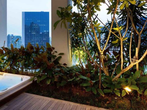 阳台景观 室内景观 室内小景